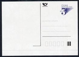 CZECH REPUBLIC 1996 3 Kc. Defiinitive Postcard, Unused.  Michel P19 - Postal Stationery
