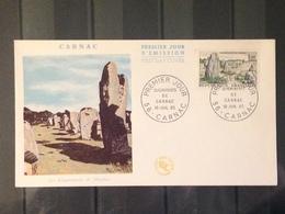 France - 1965 - Enveloppe 1er Jour - Alignements De Carnac - Oblitérés