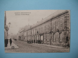 CPA  Sainte-Menehould  Avenue Victor-Hugo  1916 - Sainte-Menehould