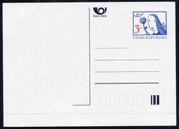 CZECH REPUBLIC 1996 3 Kc.definitive Postcard, Unused.  Michel P18 - Postal Stationery