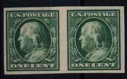 Etats Unis (1908) N 167G Sans Gomme Non Dentelé - United States