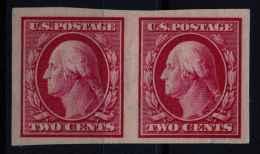 Etats Unis (1908) N 168G Sans Gomme Non Dentelé - United States