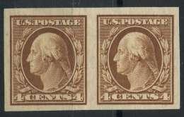 Etats Unis (1908) N 170D (Sans Gomme) Non Dentelé - United States