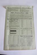 Document Publicitaire  Pour L'achat De Drapeaux Et Autres Avant 1900 Est Ronner In Ronn Am Rhein - Germany