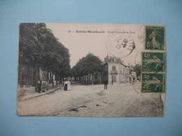 CPA  Sainte-Menehould  Rond Point De La Gare  1920 - Sainte-Menehould