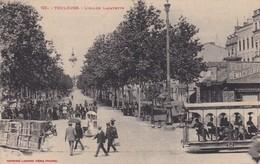 31 / TOULOUSE / L ALLEE LAFAYETTE / JOLIE CARTE / TRAMWAY EN IMPERIALE - Toulouse