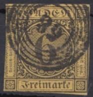 """Mi-Nr. 7, Klar """"58"""", Hausach, O - Baden"""