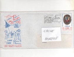 Jolie  Enveloppe  Du 05/071989p Our La France - Lettres & Documents