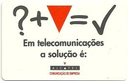 Portugal - PT - Alcatel (chip) - PT051 - 50 Units, 23.000ex, 07.1995, Used - Portugal