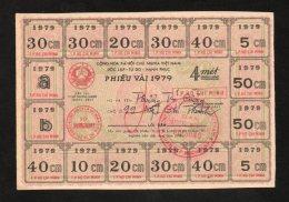 Banconota Vietnam Phieu Vai 1979 - Vietnam