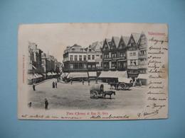 CPA  Valenciennes  Place D'Armes Et Rue St-Géry  1902 - Valenciennes