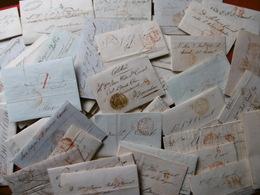 PREFILATELIA ESPANA LOT LETTRES PREPHILATELIE ESPAGNE Archives CANAL 58 Pieces - Spanien