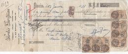 Lettre De Change ( Serkis Gurdjian // Diamants - Perles - Pierres Fines // Paris 9 ) 1931 - Bills Of Exchange