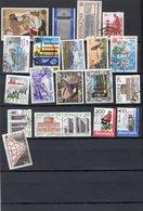 EUROPA, 107 Timbres Plus 5 Blocs Oblitérés - Collections (sans Albums)