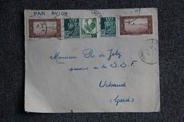 Fragment De Lettre D'ALGERIE ( MAISON CARREE) Vers FRANCE ( UCHAUD) - Algérie (1924-1962)