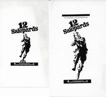 Lot Affichette Les 12 Salopards Lee Marvin - Werbetrailer