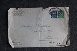 Fragment De Lettre De BERLIN ( A.ASCHER , BUCHHANDLUNG) Vers FRANCE ( NARBONNE) - Deutschland