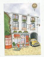 Cp, Restaurant AUX DELICES DE LA TREILLE , 63 ,Clermont Ferrand , Vierge , Illustrateur - Hotels & Restaurants