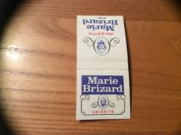 Pochette D'allumettes SEITA «Marie Brizard ANISETTE» - Boites D'allumettes