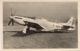 Aviation - Avion Mustang P-51 - Dübendorf 1949 - Armée Suisse - 1946-....: Moderne