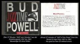 57 Minuten Jazz Von Bud Powell Von 1947 - 1963 - Jazz Of Finest - From 1947 - 63 - Jazz