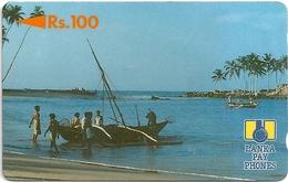 Sri Lanka - Fishing Boat - 2SRLB (Letter C Transparent), Used - Sri Lanka (Ceylon)
