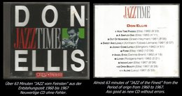 63 Minuten Jazz Von Don Ellis Von 1960 - 1967 - Jazz Of Finest - From 1960 - 67 - Jazz