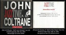 64 Minuten Jazz Von John Coltrane Von 1961 - 1965 - Jazz Of Finest - From 1961 - 65 - Jazz