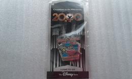 Pin's Disney Pin 422 DS - Compte à Rebours De La Série Millennium # 10 (20 000 Lieues Sous La Mer) - Disney