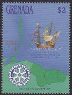 GRENADA 1988 - Ships-aircrafts-Rotary MNH, Mi.# 1742 - Grenada (1974-...)