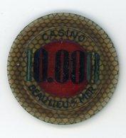Jetons De Casino Beaulieu Sur Mer (2 Jetons) - Casino