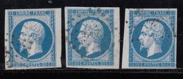 1853 YVERT Nº 14 A - 1853-1860 Napoléon III