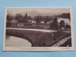 Vue Sur L'Ile Saint-Symphorien Et Le Fort Saint-Quentin / Anno 1918 ( 208e Reg. Inf. ) Gilbert > Eloise ( Voir Photo ) ! - Metz