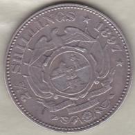 Afrique Du Sud . 2 ½ Shillings 1897 . Argent . KM# 7 - Afrique Du Sud