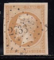 1853 YVERT Nº 13 B - 1853-1860 Napoléon III