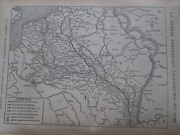 La Grande Guerre  14-18 La Semaine Militaire Du 14 Au 21 Novembre 1918 Tete De Pont De COBLENTZ Coblence + Carte Front - Non Classés