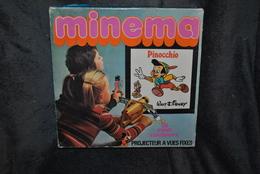 Rare Caméra Minema Disney Pinocchio Complet Meccano - Disney