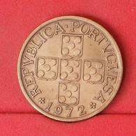 PORTUGAL 1 ESCUDOS 1972 -    KM# 597 - (Nº21168) - Portugal