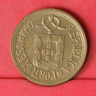PORTUGAL 10 ESCUDOS 1997 -    KM# 633 - (Nº21171) - Portugal