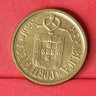 PORTUGAL 10 ESCUDOS 1988 -    KM# 633 - (Nº21172) - Portugal