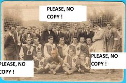 VARAZDIN - 1920. God. Utakmica Izmedju Dva Varazdinska Nogometna Kluba DRAVA : VSK 6:5 * Nastupili I Neki Igraci Cakovec - Croatia