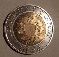 TOKEN JETON GETTONE SVIZZERA CANTON TICINO 1998 SCUDO - Monetary /of Necessity