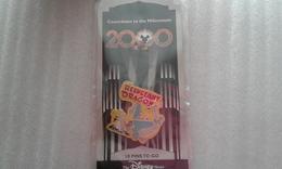 Pin's Disney  Compte à Rebours De La Série Millennium # 11 (Dragon Réticent / Sir Giles) - Disney