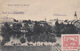 NOVE MESTO NA MORAVE        BEL AFFRNCHISSEMENT   RECTO VERSO   + LCC 913 - Czech Republic
