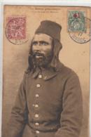 BEL AFFRANCHISSEMENT TIMBRES SURTAXES CROIX ROUGE SUR CARTE POSTALE   + CACHET RECP  N° 1521 - Maroc (1956-...)