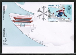 2018 XII Paralympic Winter Games PyeongChang 2018 FDC - FDC