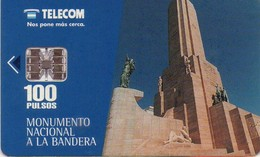 TARJETA TELEFONICA DE ARGENTINA. MONUMENTO NACIONAL A LA BANDERA (193) - Argentina