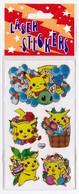 Pochette De 1 Feuille De Stickers POKEMON PIKACHU Pour Décorer Cahiers Livres - Scrapbooking