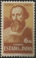 Portuguese India 1946 Garcia Da Orta A32 MNH - Writers