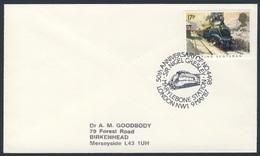 Great Britain 1987 Cover / Brief  / Lettre - 50th Ann. Loc. No. 4498 Sir Nigel Gresley - Marylebone Station - Treinen